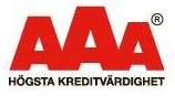 SVETSAB Högsta Kreditvärdighet AAA