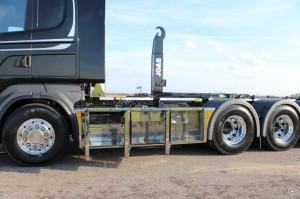 Scania tridem lastväxlare