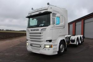 Scania R 580 Tridem Chassi SVETSAB