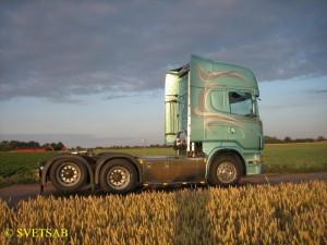 SVETSAB Påbyggnation Scania