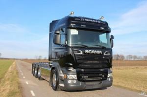 SVETSAB Scania Tridem Lastväxlare