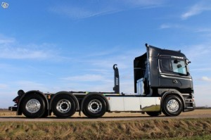 SVETSAB Scania Tridem Lastväxlare med Joab Krok