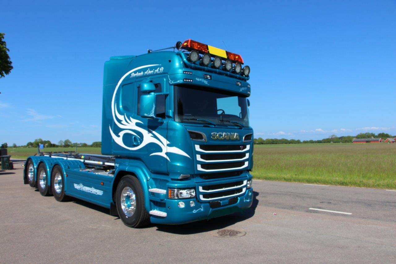 SVETSAB Komplett Scania R 588 Tridem växlare 001