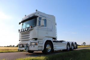 SVETSAB Komplett Plogbil Scania R 588 Tridem växlare Bild 007